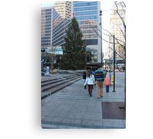 Cincinnati Christmas Canvas Print