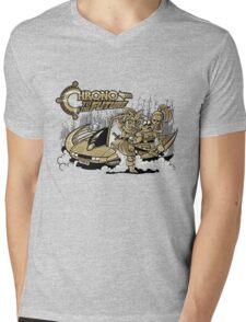 Chrono to the Future Mens V-Neck T-Shirt