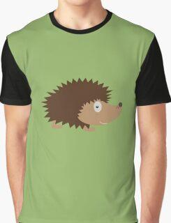 Cute Hedgehog Graphic T-Shirt