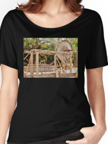 Old Equipment in Death Valley Women's Relaxed Fit T-Shirt