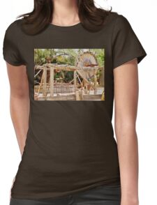 Old Equipment in Death Valley Womens Fitted T-Shirt