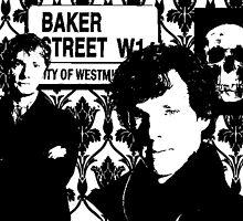 Sherlock silhouette by stormyfox