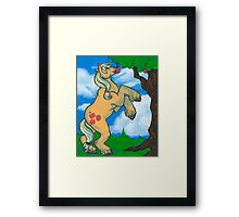 Silly Pony Framed Print