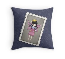 Whimsical Little Fairy Princess Throw Pillow