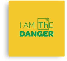 Breaking Bad - I AM THE DANGER! Canvas Print
