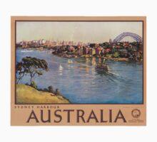 Vintage poster - Australia Kids Clothes