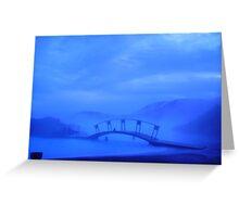 Blue Lagoon Spa Greeting Card