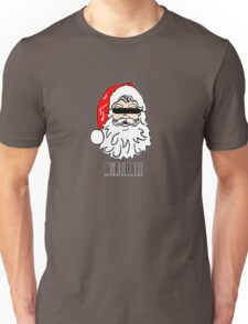 Bad Santa brought in for questioning on Christmas eve  Unisex T-Shirt