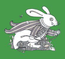 The White Rabbit Rush  Kids Tee