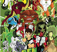 Ben 10 Poster by Shane Williams