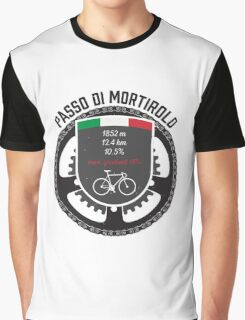 Passo di Mortirolo Graphic T-Shirt