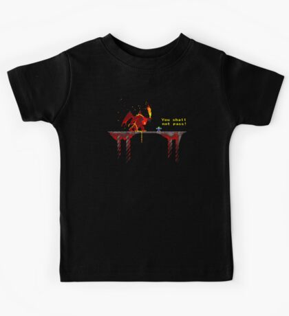 You shall not pass! Kids Tee