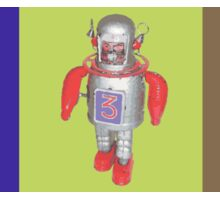 RETRO ROBOTS Sticker