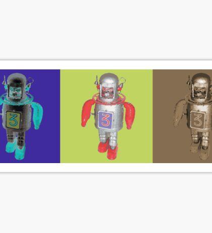 RETRO ROBOTS Sticker