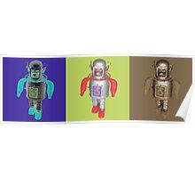 RETRO ROBOTS Poster