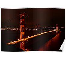 Bridge of the Golden Gate Poster