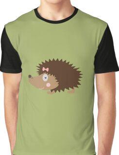 Hedgehog female Graphic T-Shirt