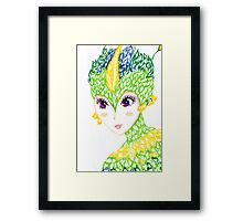 Tooth Framed Print