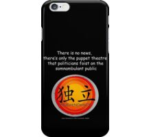 Serenity 2005 Mr Universe REV> iPhone Case/Skin