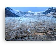 Crusted Glacier à la Mode Canvas Print