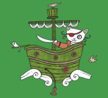 Pirate Puss Baby Tee