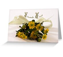Mini Sanvitalia (Cuzco) - Thank You Card Greeting Card