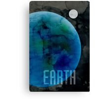 The Planet Earth Canvas Print