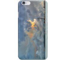 ©HCS Cool Fresh Blue Clouds I iPhone Case/Skin