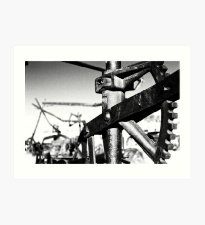 Old Iron #3: Carrizo Plains Art Print
