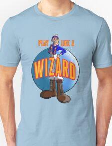 Play like a WIZARD! Unisex T-Shirt