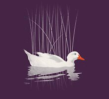 Duck Reflected Womens Fitted T-Shirt