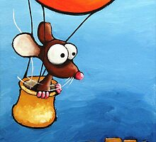 Hot-air Balloon  by StressieCat