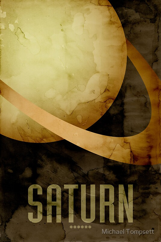 planet saturn poster - photo #25