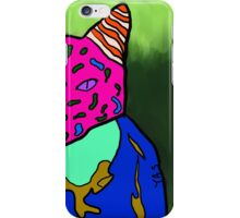 abstract bright colorful cat  iPhone Case/Skin
