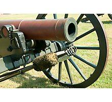 Civil War Canon Photographic Print