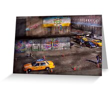 City - New York - Greenwich Village - Life's color Greeting Card