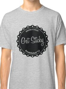 Get Sticky - Plain Black Classic T-Shirt