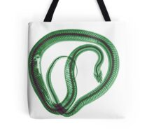Snake under x-ray a whole mouse can be seen  Tote Bag