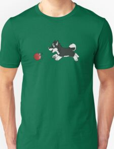 Ornament Chaser- Husky Puppy T-Shirt