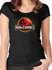 Bubble Bobble Park Women's Fitted Scoop T-Shirt