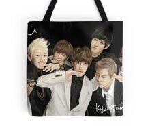 Block B Group Portrait Tote Bag