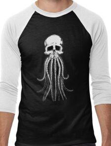 Skull octopus/davy jones Men's Baseball ¾ T-Shirt