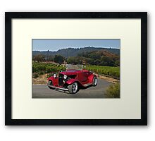 1929 Model A Roadster   Framed Print