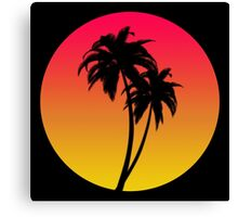 MASTER OF THE MIAMI SUNSET Canvas Print