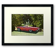 1958 Ford Thunderbird Convertible II Framed Print