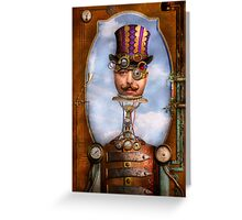 Steampunk - Integrated Greeting Card