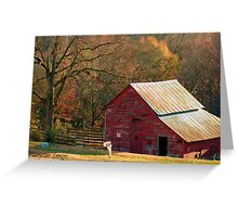 Berryvine Barn Fall Greeting Card