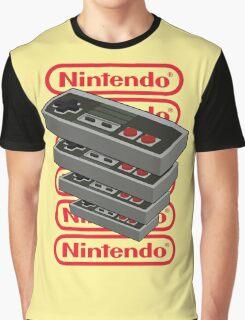 Nintendo Controller Graphic T-Shirt
