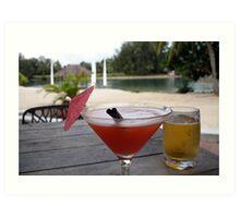 Vanuatu Drinks Art Print