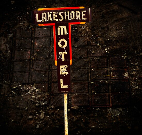 Lake Shore Motel by Thomas Young